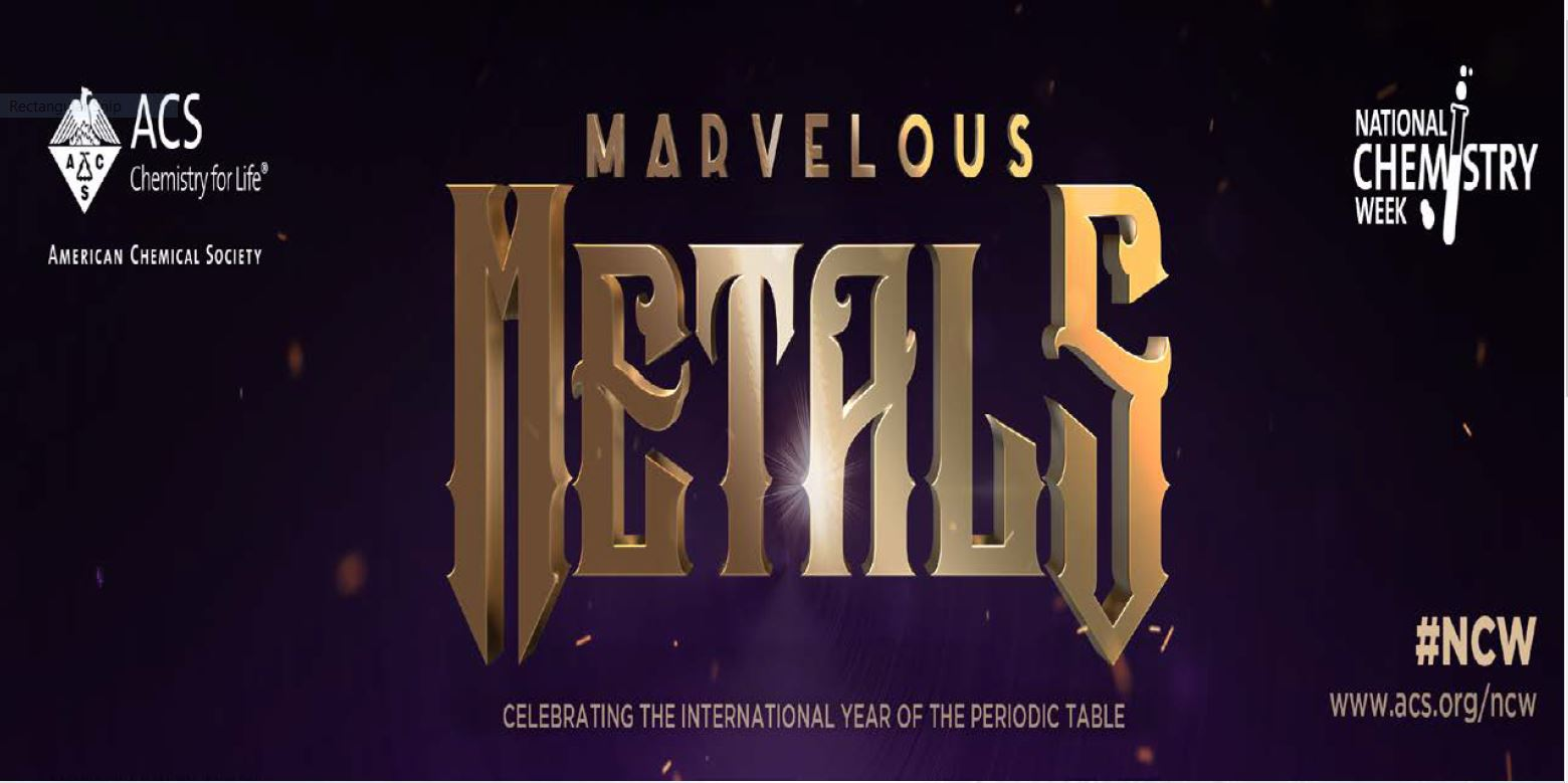 Marvelous Metals (Chemistry) Family Event at Library (Houghton) - Sat, Oct. 26, Noon-2:30 pm